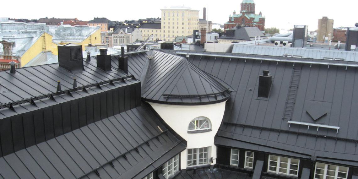 Katuse ehitus: Valtsplekk-katus: metallkatuste Mercedes