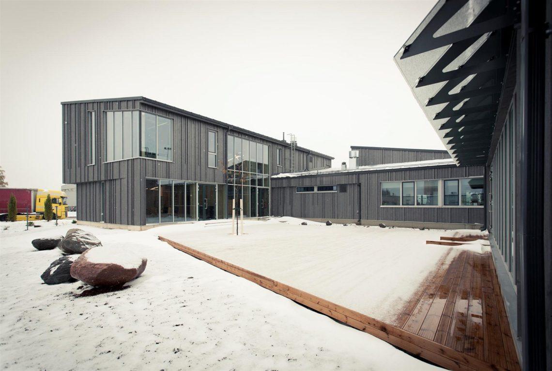 Aasta puitehitis 2018 - Raitwood büroohoone. Foto: EMPL