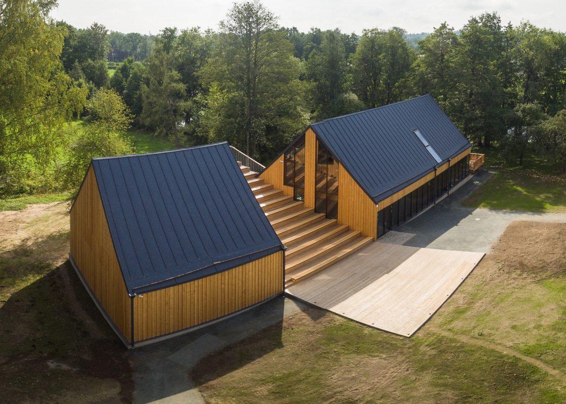 Aasta Puitehitis konkurss, Palamuse O. Lutsu Kihelkonnakoolimuuseumi külastuskeskus