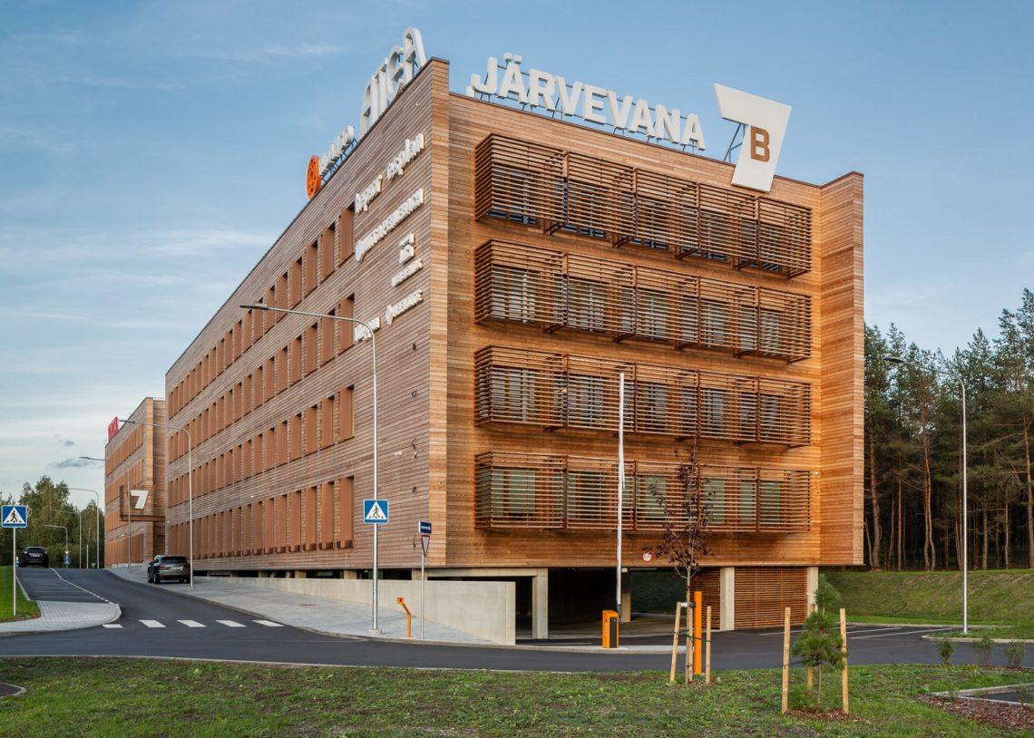 Aasta Puitehitis konkurss, Järvevana7B, Tallinn, foto Maris Tomba