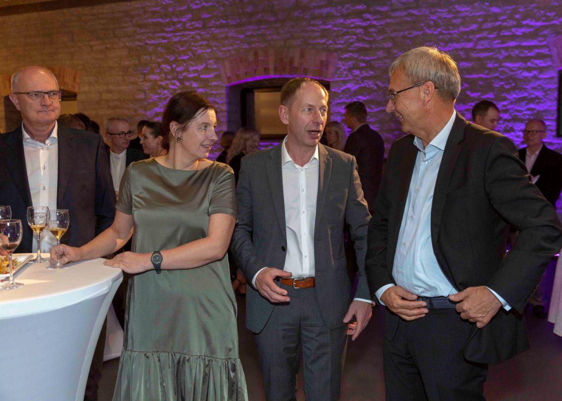 Eesti Ehitusmaterjalide Tootjate Liit 25. sünnipäevapidu.