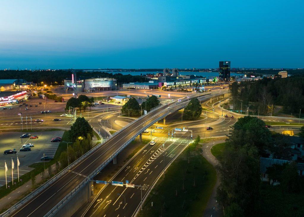 Haabersti ristmik Tallinnas