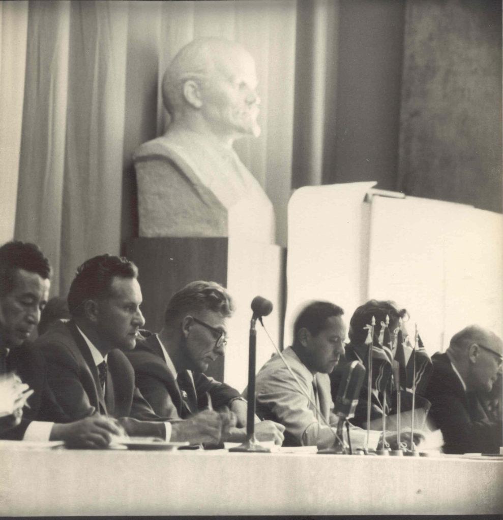 Foto: 1967. aasta: toimub Baltimaade maanteelaste V teaduslik-tehniline konverents Vilniuses.