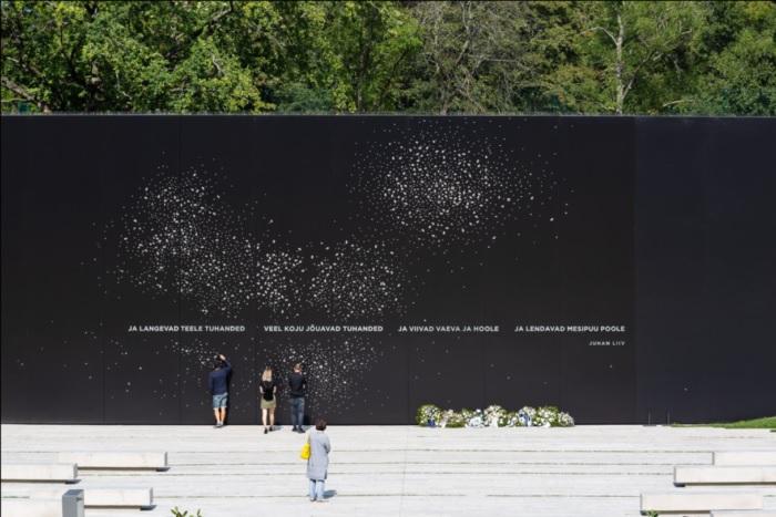 Aasta betoonehitis 2018, Maarjamäe kommunismiohvrite memoriaali ehitaja Haart Ehitus OÜ, foto: aasta betoonehitis