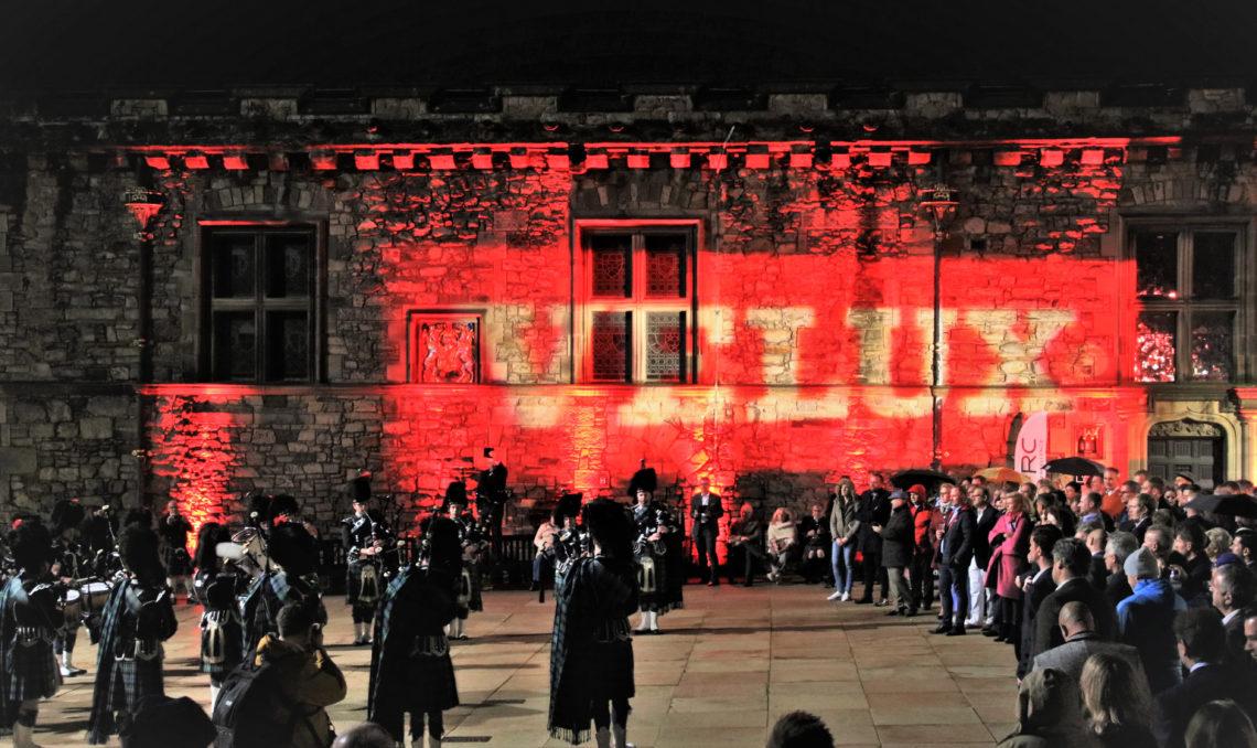 Šoti kultuuriõhtu kongressi teise päeva õhtul.