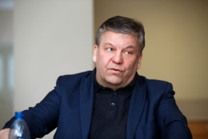 Indrek Peterson, Eesti Ehitusettevõtjate Liidu tegevjuht. Foto: Raul Mee