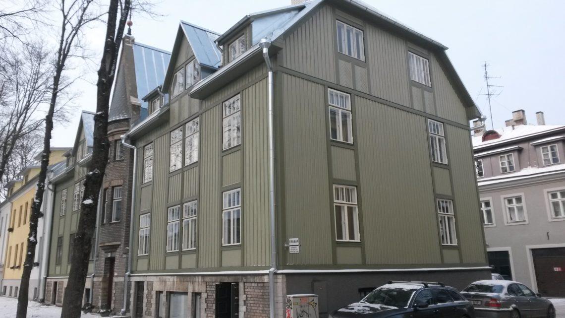 Puitmaja fassaad. Foto: Renovedur OÜ