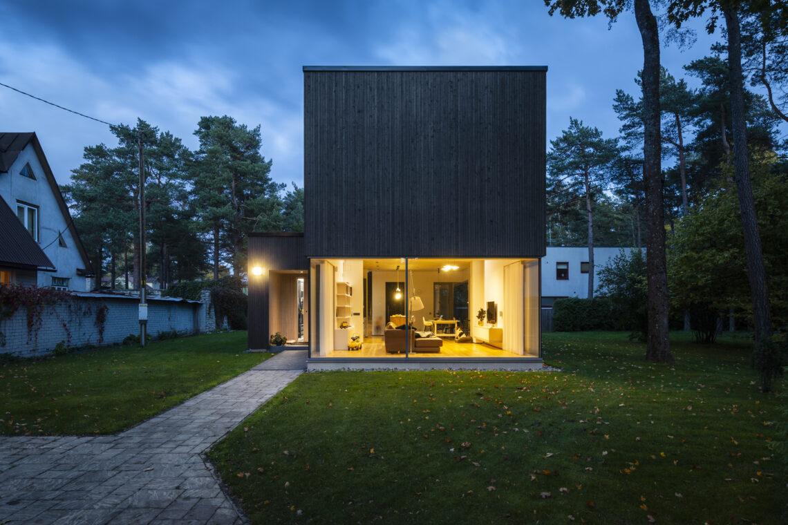 Eesti Arhitektide Liidu aastapreemiate nominendid 2019, eramu Nõmmel. Foto: Kaido Haagen.