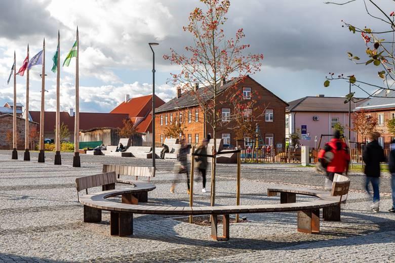 Arhitektuuri sihtkapitali aastapreemiate nominendid 2019, Valga keskväljak. Foto: Maris Tomba