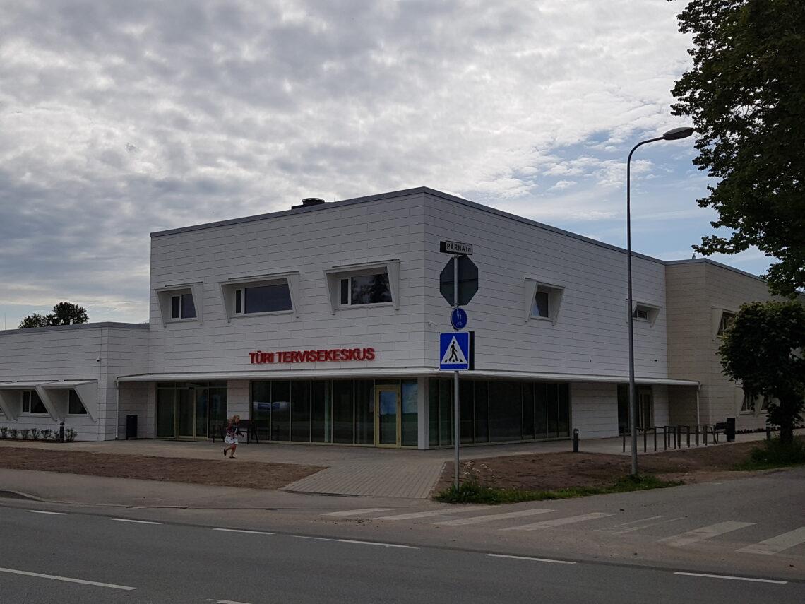 Türi Tervisekeskus. Foto: Sweco Projekt AS