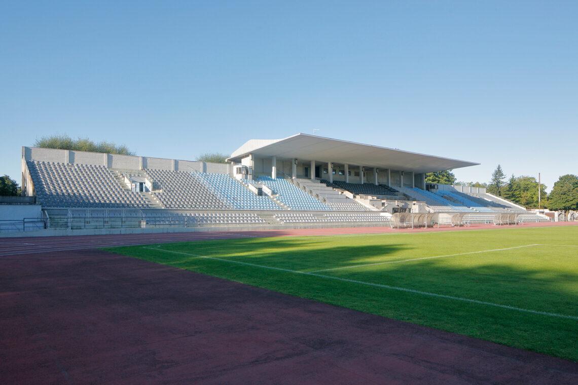 Kadrioru staadioni tribüün 2020.