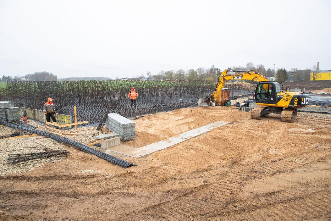 Estoveri Kaarlijärve meierei biojaam Elva vallas, ehitas Mapri Ehitus. Foto: Mapri Ehitus