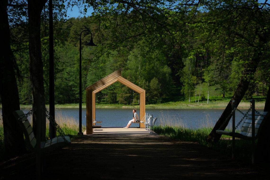 Mida järvele lähemal, seda looduslikum ja romantilisem. Foto: Jaak Jänes