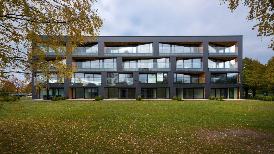 Pärnu kortermaja Villa 1. Foto: Kaido Haagen