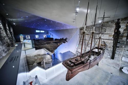 Paks Margareeta muuseum-külastuskeskus. Eesti Arhitektide Liidu aastapreemiate nominendid 2020. Foto: Hendrik Osula