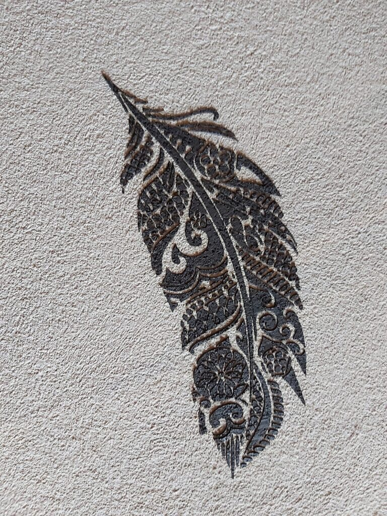 INkodu.ee esitleb: trafarettmaaling. Foto: A-Viimistlus