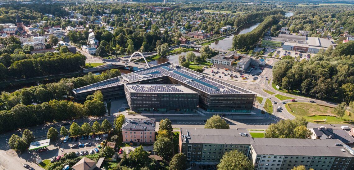 Aasta ehitaja 2020 konkursi kandidaat – Eke Kurg ettevõttest AS Ehitusfirma Rand ja Tuulberg, Tartu Ülikooli Delta õppehoone.