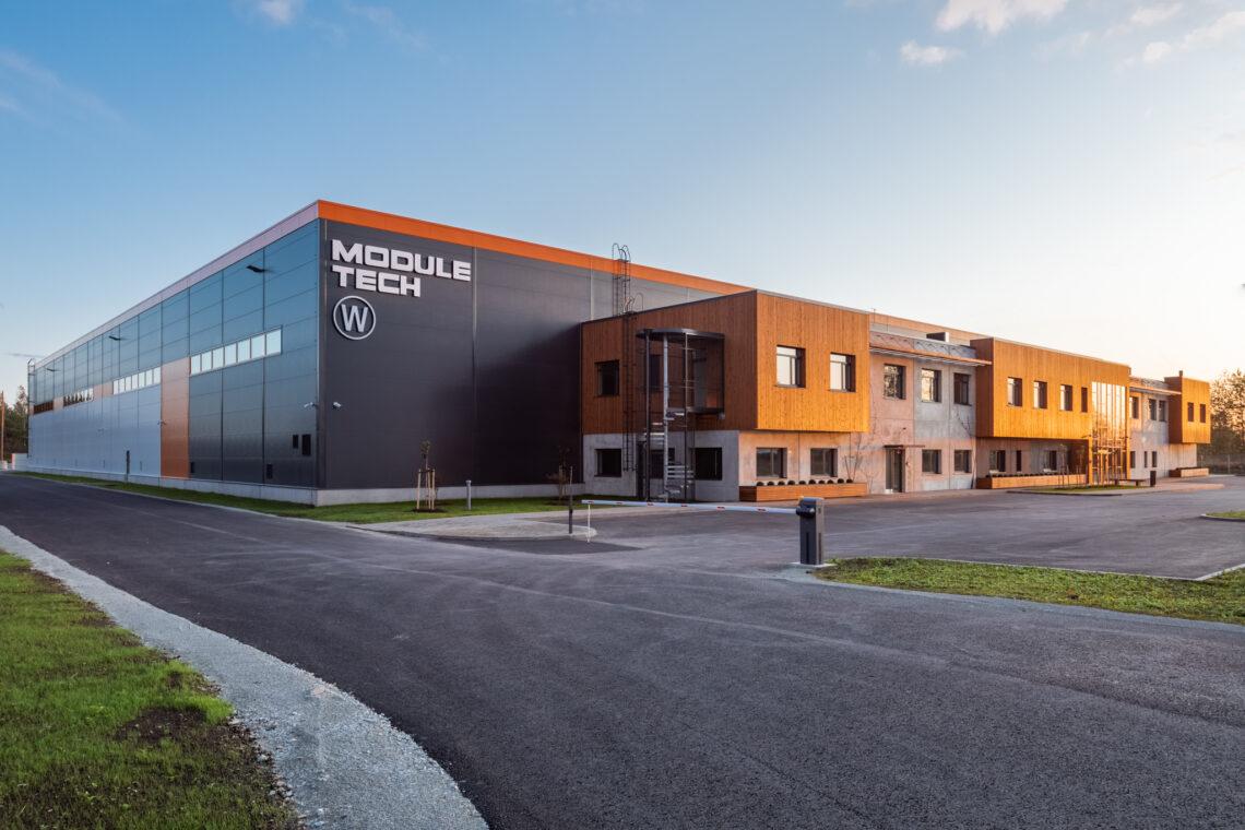 Aasta ehitaja 2020 konkursi kandidaat – Maksim Kurotškin ettevõttest Maru Ehitus AS, Module Tech OÜ büroo- ja tootmishoone.