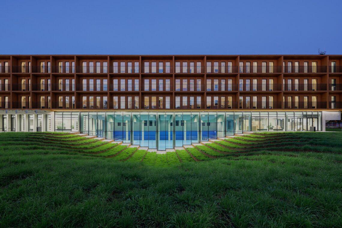 Aasta ehitaja 2020 konkursi kandidaat – Viljo Niit ettevõttest Nordecon AS, Sisekaitseakadeemia Narva õppekeskus.