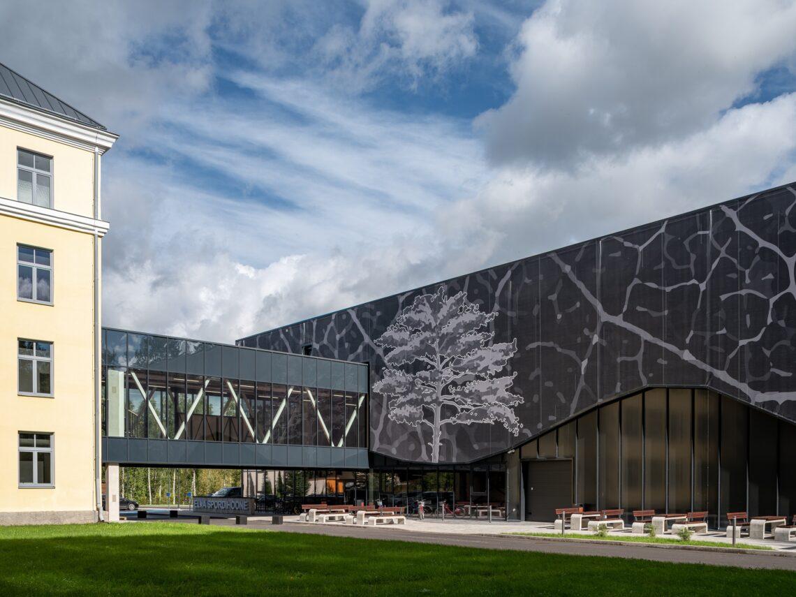Aasta ehitaja 2020 konkursi kandidaat – Jegor Šurmin ettevõttest KRC Ehitus OÜ, Elva spordihoone.