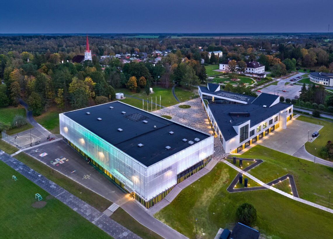 Aasta ehitaja 2020 konkursi kandidaat – Paul Järvsoo ettevõttest AS Merko Ehitus Eesti, Türi Põhikooli uus õppehoone ja spordihoone.