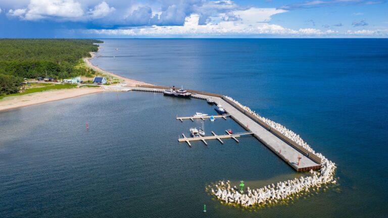 Aasta betoonehitis 2020 nominendid. Naissaare sadama rekonstrueerimine, I etapp, Naissaar, Viimsi vald, Harjumaa. Foto: Betooniühing