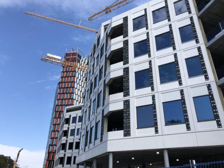 Aasta betoonehitis 2020 nominendid. Stockholm New büroohoone, Stockholm, Rootsi. Foto: Betooniühing