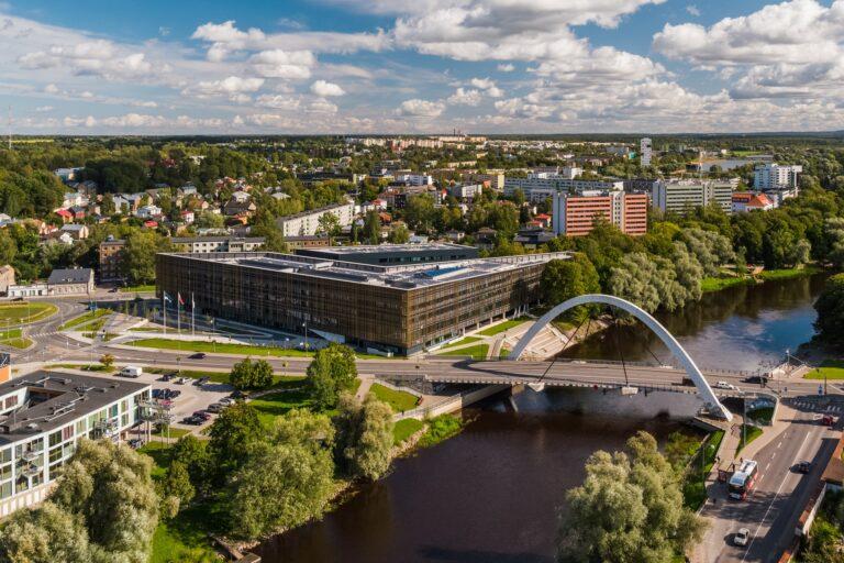Aasta betoonehitis 2020 nominendid. Tartu Ülikooli Delta õppehoone, Narva mnt 18/20, Tartu. Foto: Betooniühing