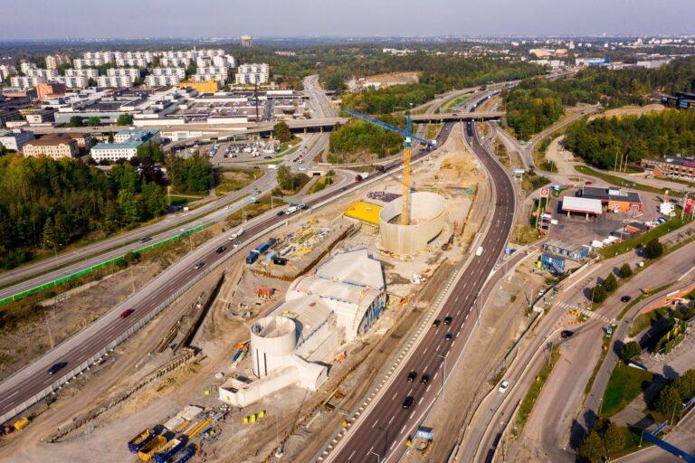 Aasta betoonehitis 2020 nominendid. FSE 105, maanteetunneli ventilatsioonihoone, Stockholm, Rootsi. Foto: Betooniühing