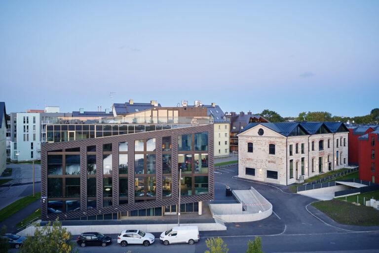 Aasta betoonehitis 2020 nominendid. Heathmont büroohoone, Suur-Patarei 13, Tallinn. Foto: Betooniühing