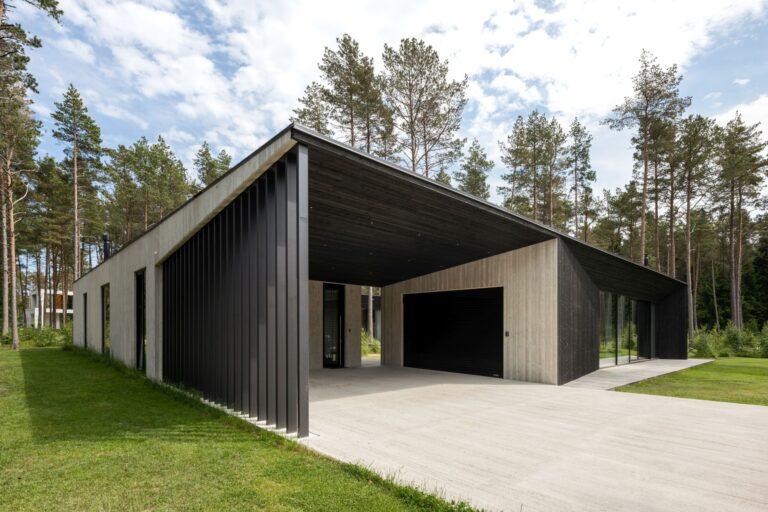 Aasta betoonehitis 2020 nominendid. Laaneotsa maja, Pringi küla, Viimsi vald, Harjumaa. Foto: Betooniühing