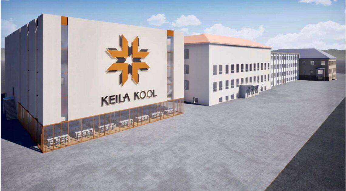 Keila kooli juurdeehitus sai nurgakivi. Foto: Mapri Ehitus