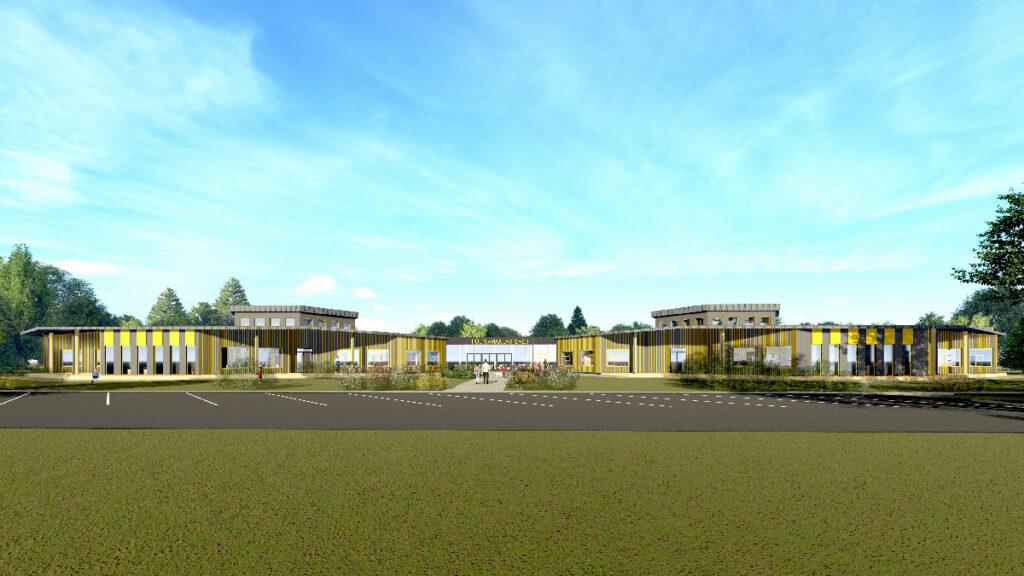 Mapri Ehitus ehitab Põltsamaale uue lasteaia. Foto: Mapri Ehitus
