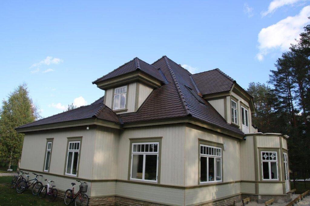 Eramu Värskas (ehitaja Eksklusiivehitus OÜ)