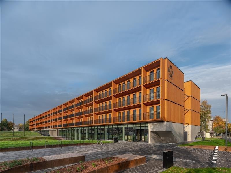 Sisekaitsekadeemia Narvas. Foto: ehitaja Katevara OÜ