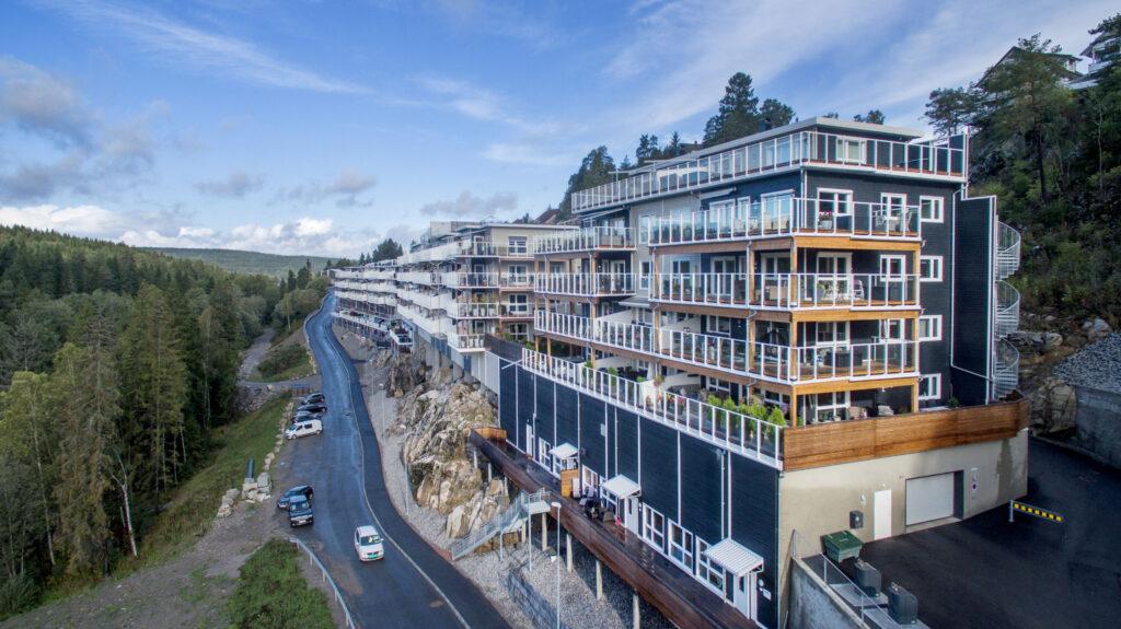 Kortermajade kompleks Norras, Matek AS (aasta tehasemaja konkursi parim arendusprojekt), Foto: Matek AS