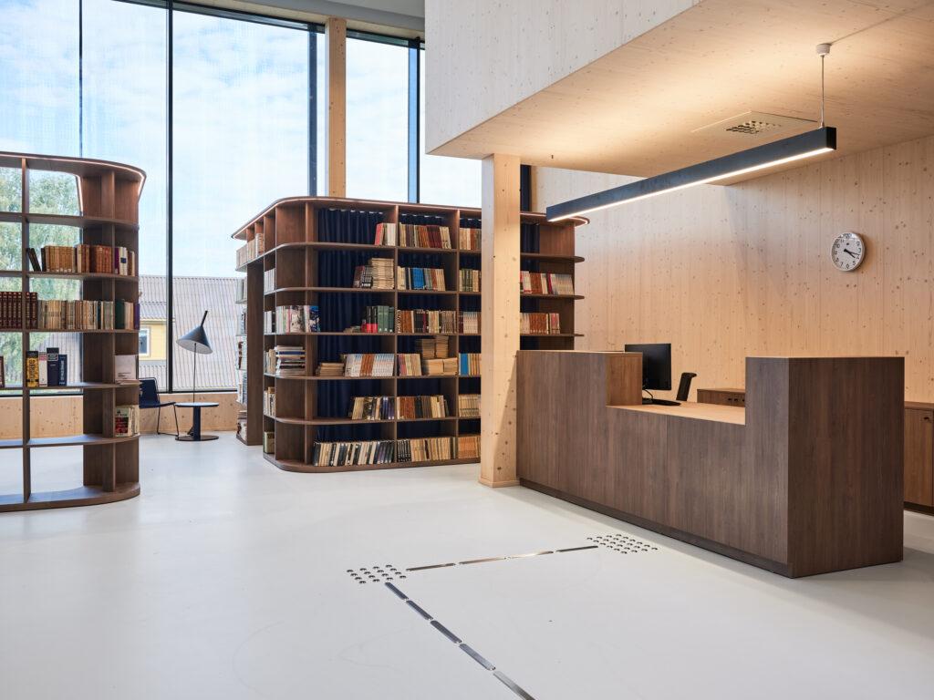 Avar raamatukogu on suurepärase akustikaga. Foto: Tõnu Tunnel